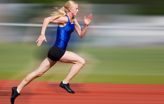 Sprinting an activity to lose weight