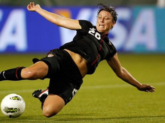Abby Wambach Best Female Soccer Players