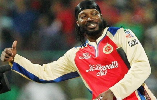 Chris Gayle smashed Most Sixes in IPL