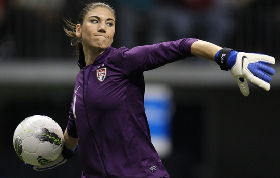 Hope Solo Best Female Soccer Players