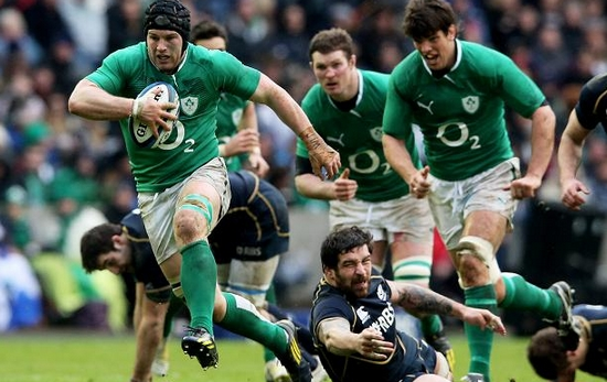 Ireland Strongest Teams in 2015 Rugby World Cup