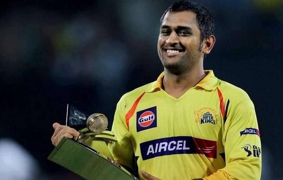 MS Dhoni Chennai Super Kings Captains in Pepsi IPL 2015