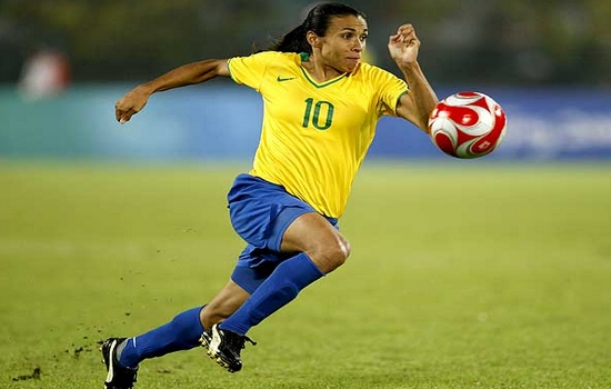 Marta Best Female Soccer Players
