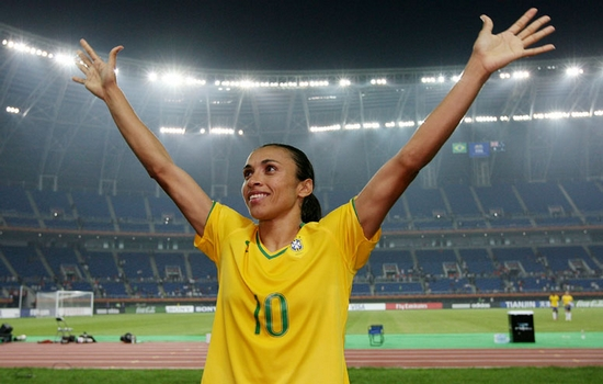Marta FIFA Women's World Cup Top Scorers