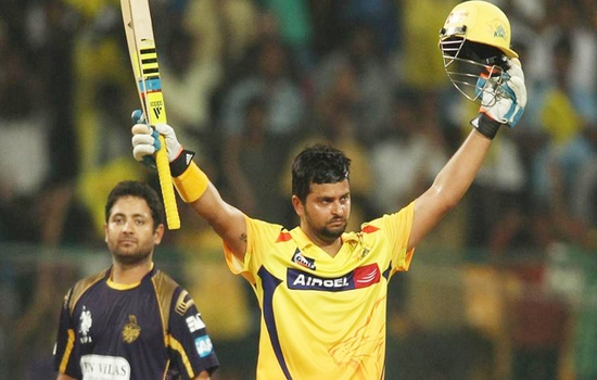 Suresh Raina Most Sixes in IPL