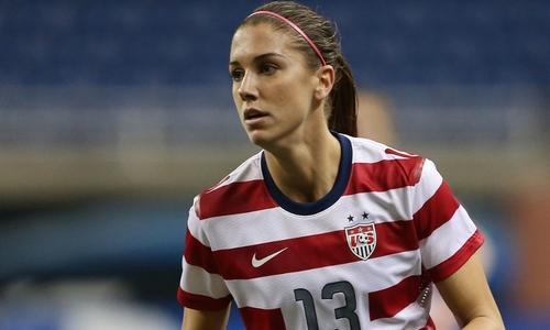 Alex Morgan Best Female Strikers in FIFA Women's World Cup 2015