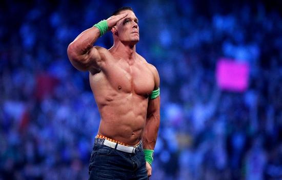 John Cena Most Popular Athletes on Social Media