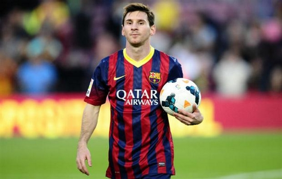 Lional Messi Most Popular Athletes on Social Media