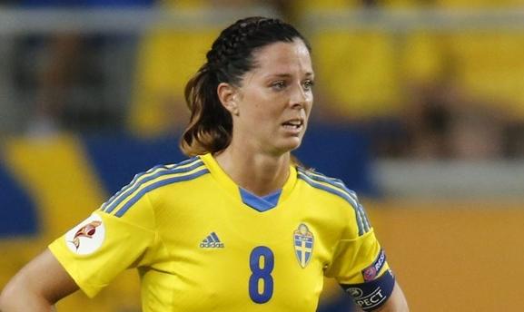 Lotta Schelin Best Female Strikers in FIFA Women's World Cup 2015