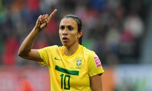 Marta Best Female Strikers in FIFA Women's World Cup 2015