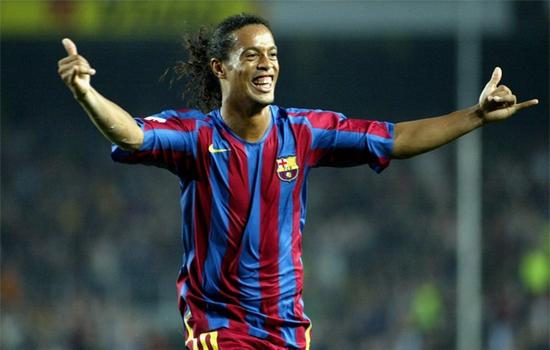 Ronaldinho Gaucho Most Popular Athletes on Social Media
