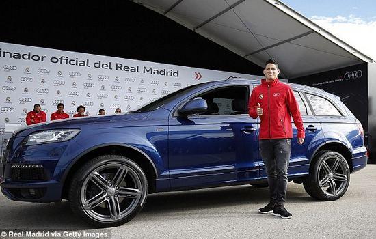 Audi Q7 Car Collection of Cristiano Ronaldo