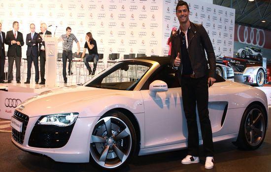 Audi R8 Car Collection of Cristiano Ronaldo