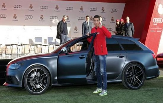 Audi RS6 Car Collection of Cristiano Ronaldo