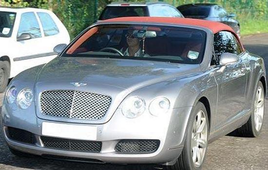 Bentley Continental GTC Car Collection of Cristiano Ronaldo