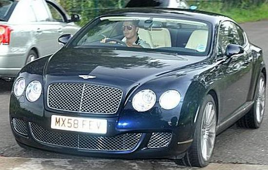 Bentley GT Speed Car Collection of Cristiano Ronaldo