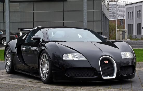 Bugatti Veyron Car Collection of Cristiano Ronaldo