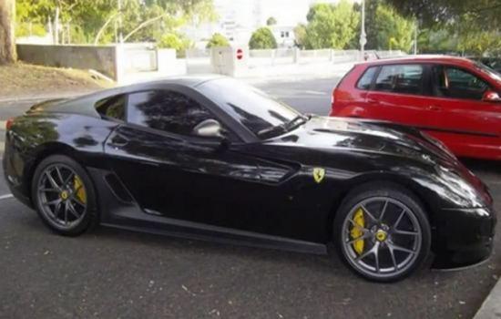 Ferrari 599 GTO Car Collection of Cristiano Ronaldo