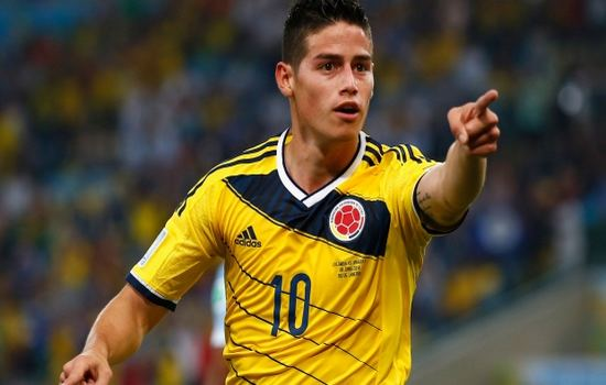 James Rodriguez Footballers to Watch at the Copa America 2015