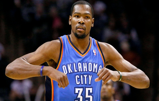Kevin Durant top paid athletes