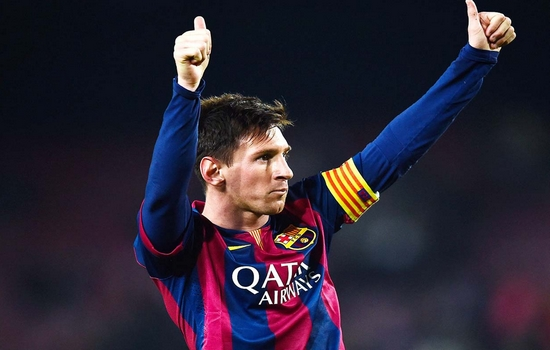 Lionel Messi top paid athletes