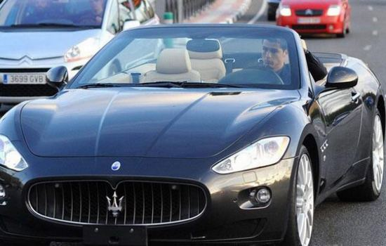 Maserati GranCabrio Car Collection of Cristiano Ronaldo