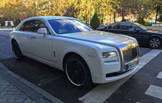 Phantom Rolls-Royce Car Collection of Cristiano Ronaldo