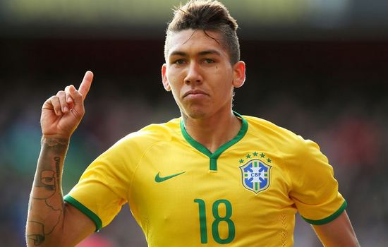 Roberto Firmino Footballers to Watch at the Copa America 2015