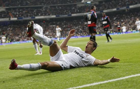 Sliding machine Cristiano Ronaldo Goal Celebrations