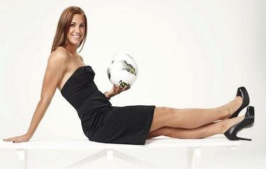 Alex Morgan Most Glamorous Female Athletes
