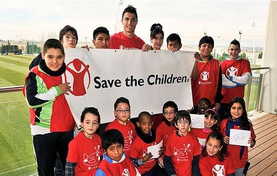 Cristiano Ronaldo most charitable athletes 2015