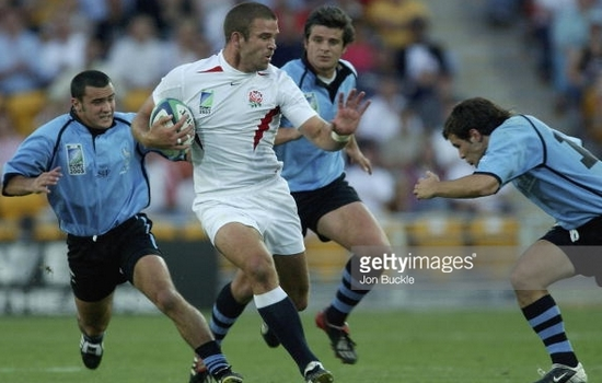 Rugby World Cup: England and Uruguay