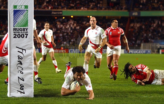 Rugby World Cup England v Tonga,