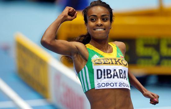 Genzebe Dibaba Most Dominant Female Athletes