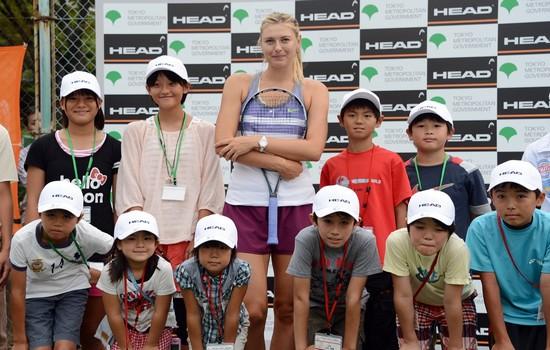 Maria Sharapova most charitable athletes 2015
