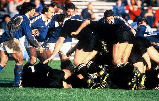 Rugby World Cup: New Zealand v italy