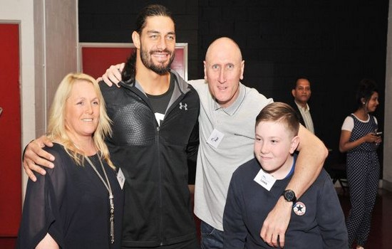 Roman Reigns most charitable athletes 2015