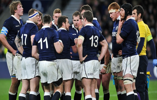 Rugby World Cup: England v Scotland