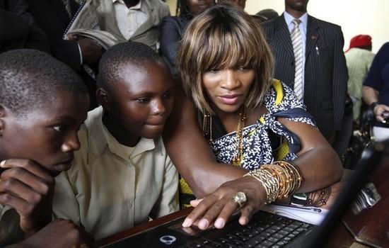 Serena Williams most charitable athletes 2015