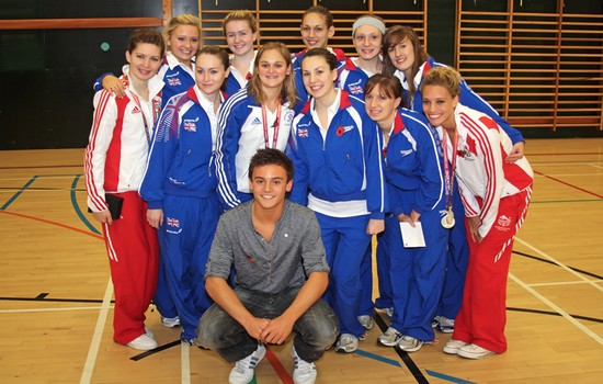 Tom Daley most charitable athletes 2015