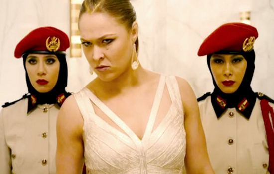 "Ronda Rousey in""Fast and Furious 7"""