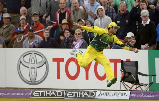 Glenn Maxwell's Unbelievable Catch at Boundary Line