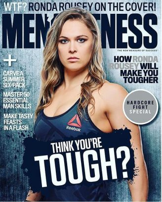 MMA Fighter Ronda Rousey Makes History Again featured Men's fitness