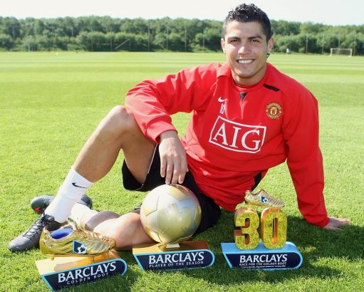Rare Photos of Cristiano Ronaldo