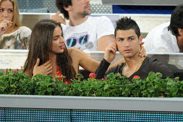 Photos of Cristiano Ronaldo with girlfriend
