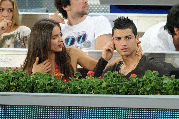 Photos of Cristiano Ronaldo with girlfriend
