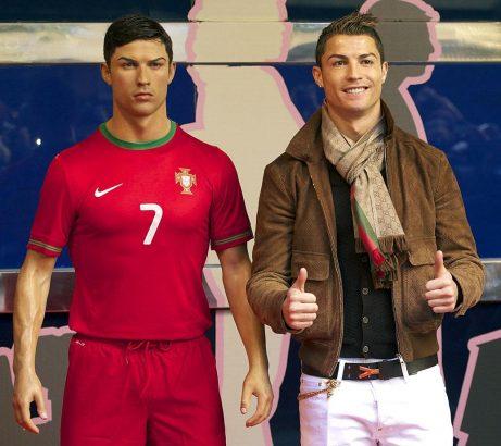 Unseen Photos of Cristiano Ronaldo Wax Statue