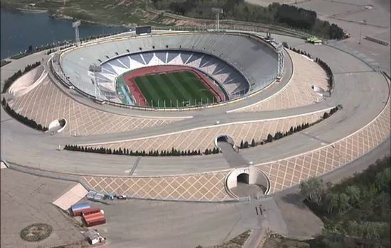 Azadi Stadium Largest Football Stadiums