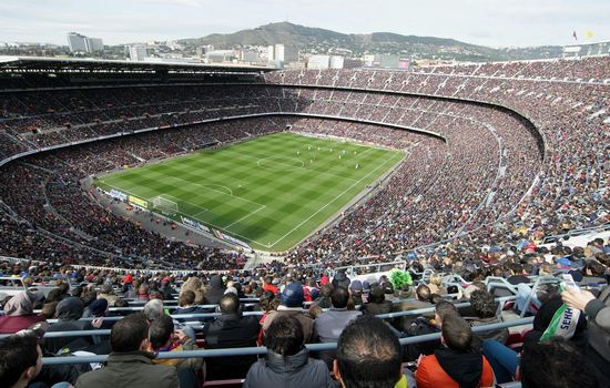 Camp Nou Largest Football Stadiums