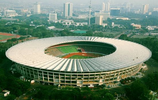 Gelora Bung Karno Stadium Largest Football Stadiums